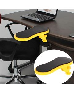Attachable Armrest Pad Desk Computer Table Mouse Arm Support Pad Arm Wrist Rest Hand Shoulder Protection - Red