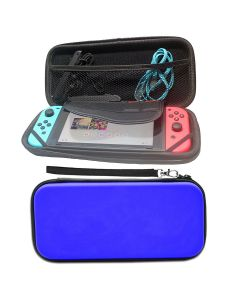 Hard Protective Pouch Bag Case Cover Bag Accessory For Nintendo Switch Console NS V1 V2 - Blue