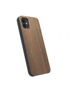 Stylish Durable Shockproof Wooden Case Cover For Apple iPhone 11 6.1'' - Walnut