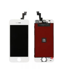 "Semi-Original Apple iPhone 5S/SE 4.0 "" LCD Screen and Digitizer Assembly with Frame Replacement - White"