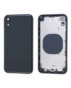 Replacement Battery Back Housing Glass Cover Compatible With Apple iPhone XR - Black
