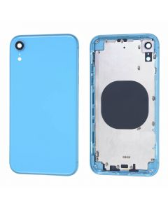 Replacement Battery Back Housing Glass Cover Compatible With Apple iPhone XR - Blue