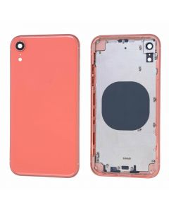 Replacement Battery Back Housing Glass Cover Compatible With Apple iPhone XR - Coral