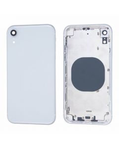 Replacement Battery Back Housing Glass Cover Compatible With Apple iPhone XR - White
