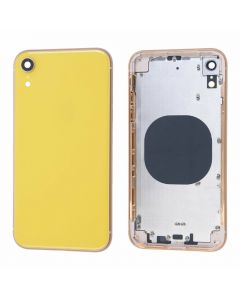 Replacement Battery Back Housing Glass Cover Compatible With Apple iPhone XR - Yellow