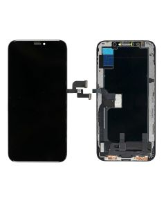 Replacement AAA Quality LCD Screen And Digitizer Assembly With Frame Compatible With Apple iPhone XS - Black/Space Grey